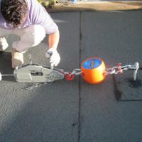 Prova su V600 M30 ancorato su soletta in cemento armato